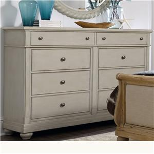 Liberty Furniture Harbor View Dresser with 8 Drawers