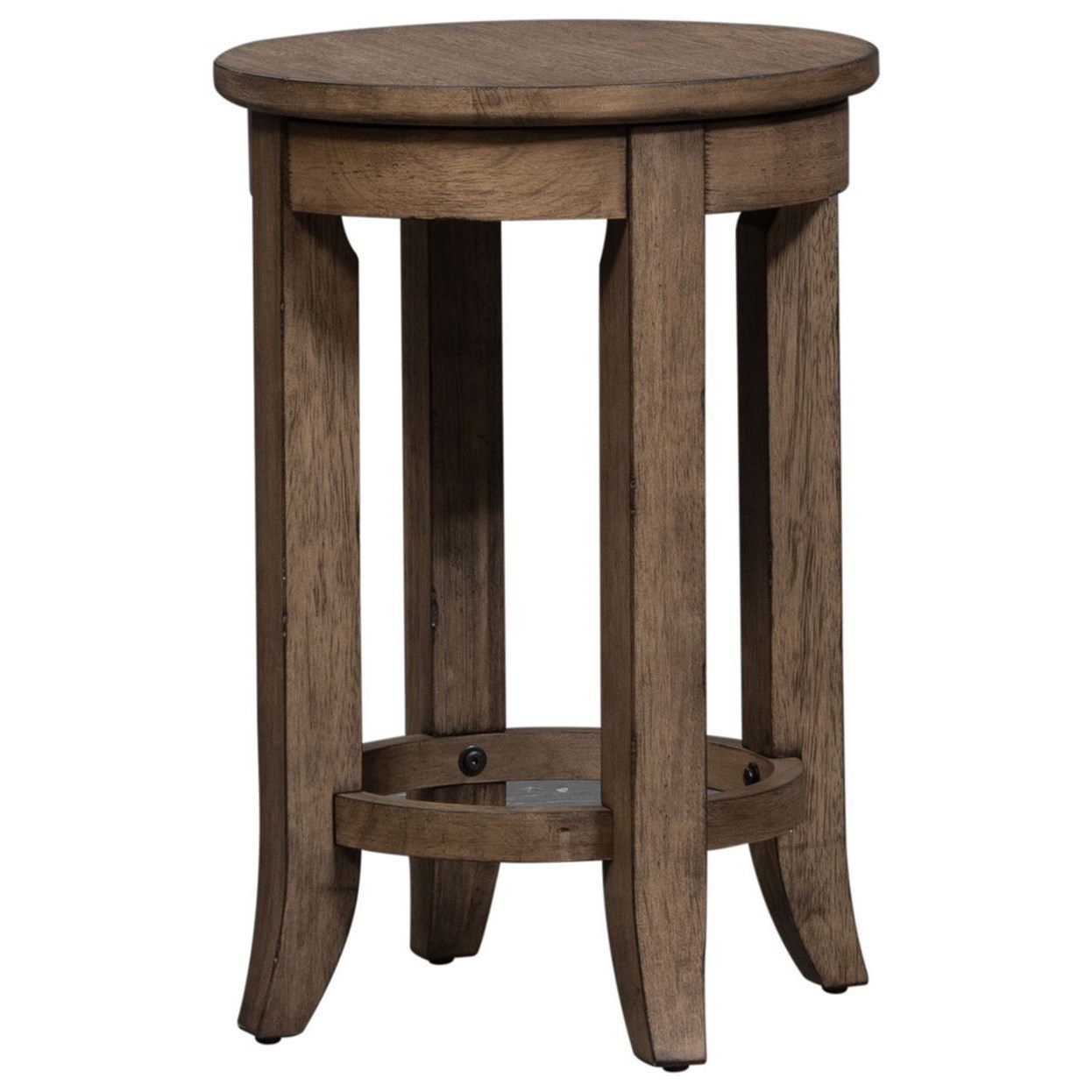Harvest Home Console Stool by Liberty Furniture at Standard Furniture