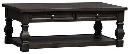 Harvest Home 3 Piece Coffee Table Set by Liberty Furniture at Sam Levitz Furniture