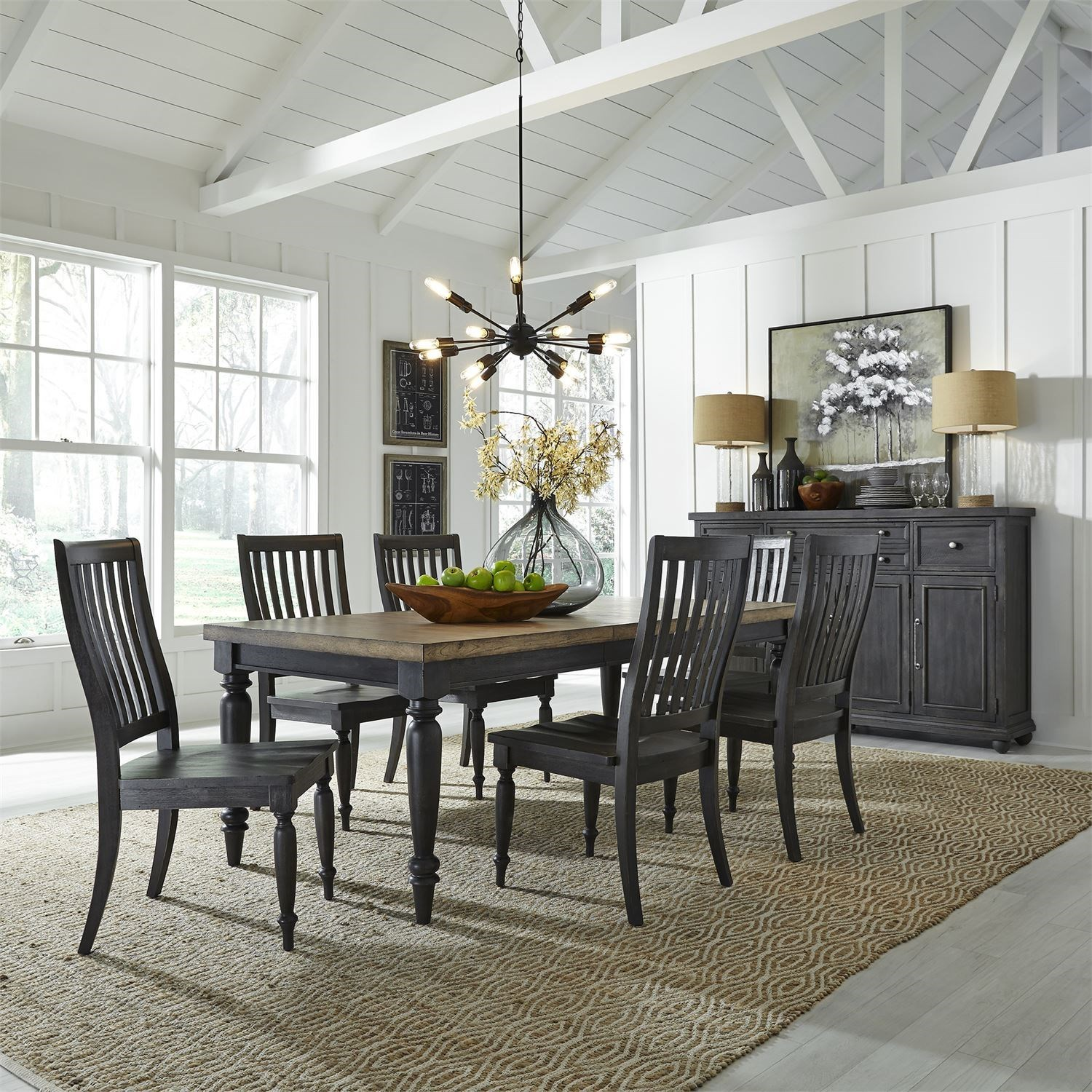 Harvest Home Formal Dining Room Group by Liberty Furniture at Northeast Factory Direct
