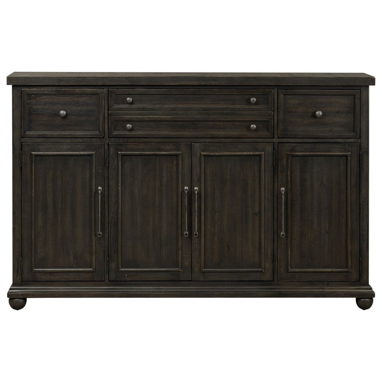 Harvest Home Hall Buffet by Liberty Furniture at Northeast Factory Direct