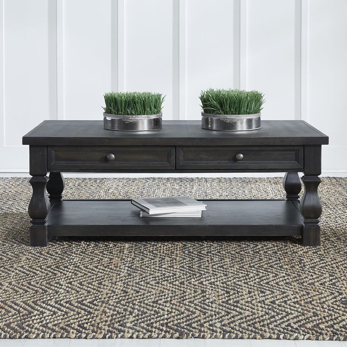Harvest Home Cocktail Table by Liberty Furniture at Northeast Factory Direct