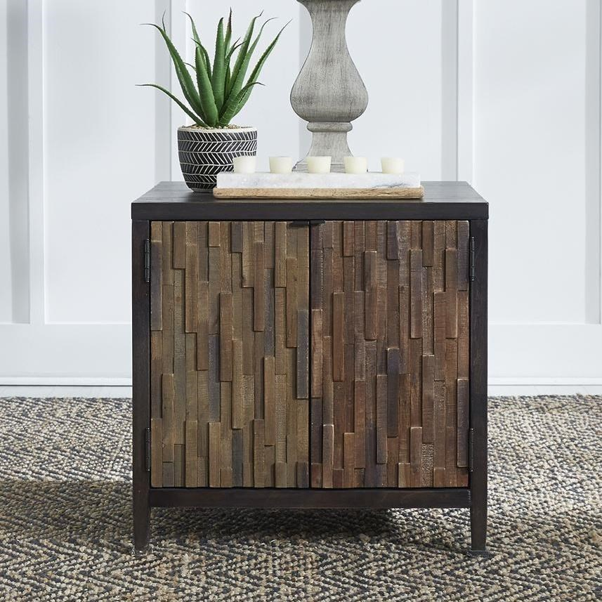 Harvest Home Door End Table by Liberty Furniture at Northeast Factory Direct