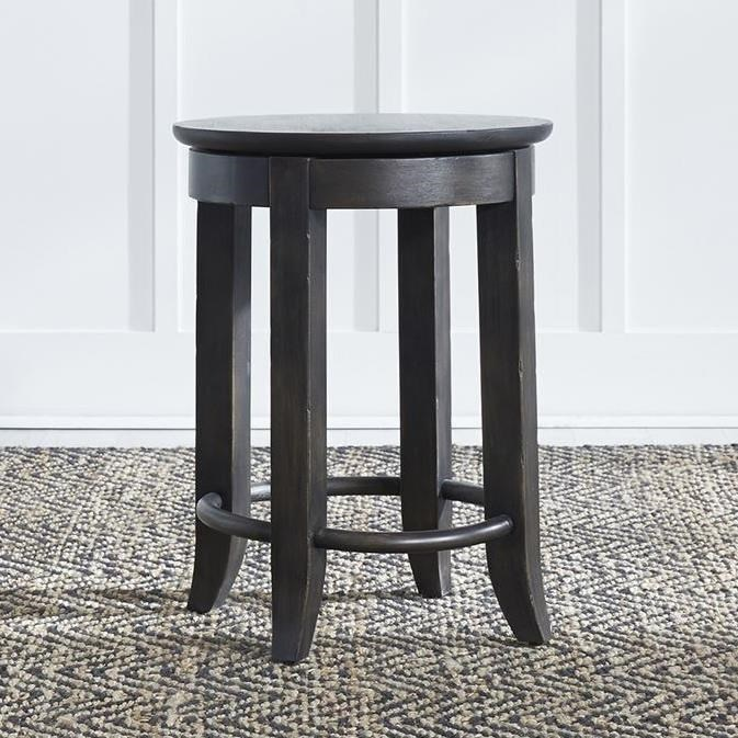 Harvest Home Console Stool by Libby at Walker's Furniture