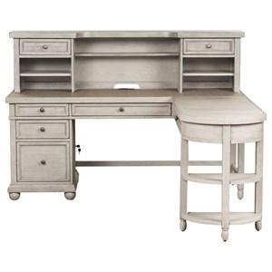 Relaxed Vintage L-Shaped Desk Set