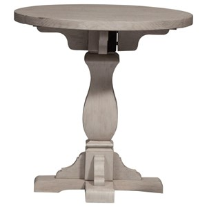 Relaxed Vintage Drop Leaf End Table
