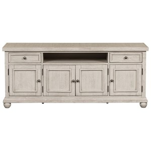 """Relaxed Vintage 66"""" TV Console"""