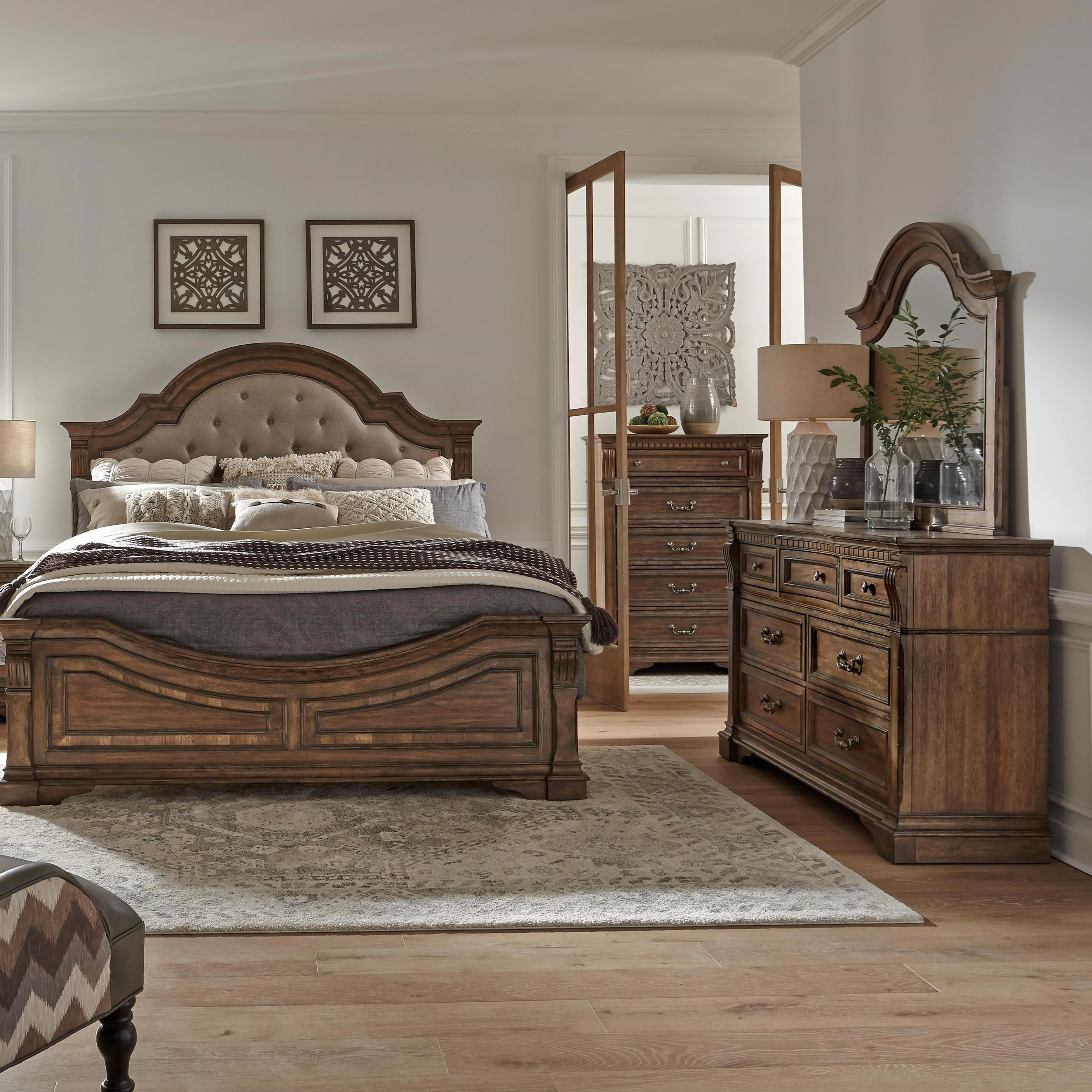 Haven Hall Queen Bedroom Group by Liberty Furniture at Northeast Factory Direct