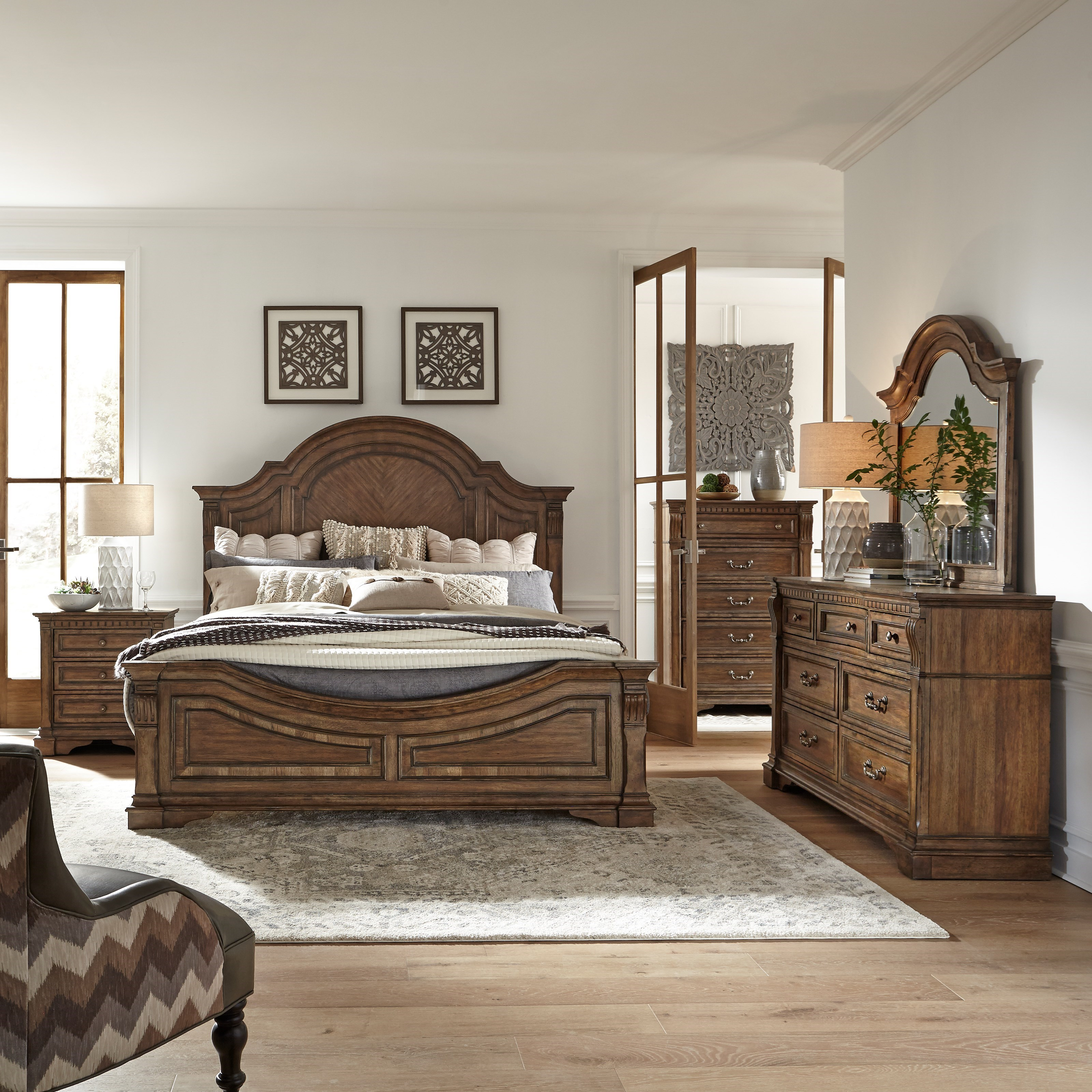 Haven Hall King Bedroom Group by Liberty Furniture at Northeast Factory Direct