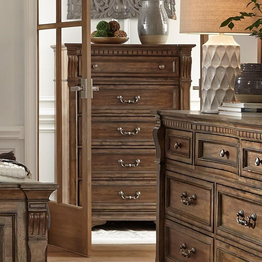 Haven Hall 5-Drawer Chest by Liberty Furniture at Darvin Furniture
