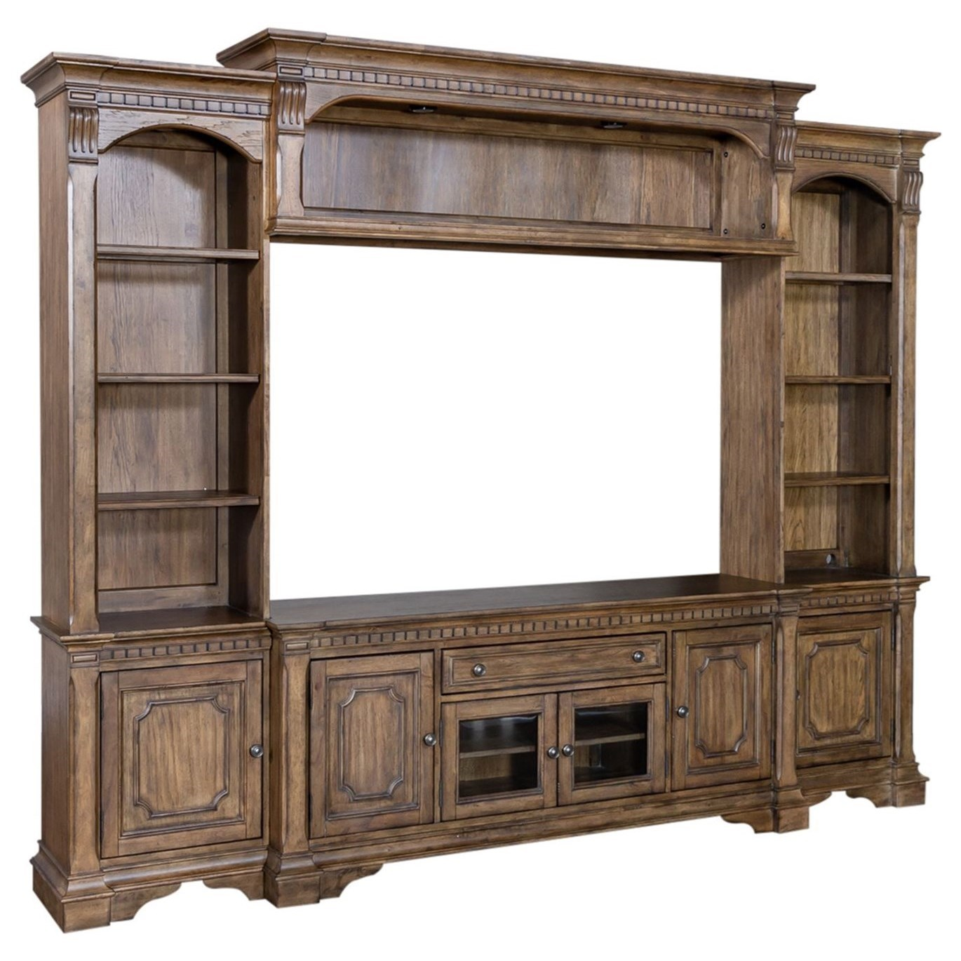 Haven Hall Wall Unit by Libby at Walker's Furniture