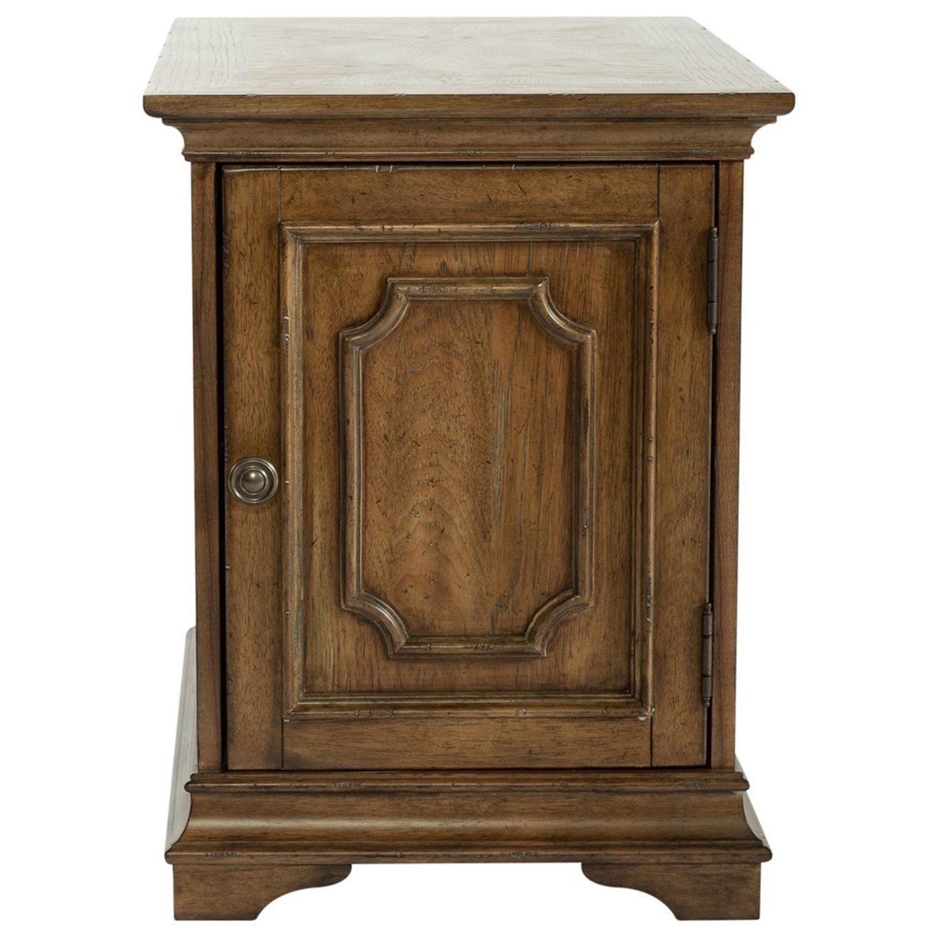 Haven Hall Chair Side Table by Libby at Walker's Furniture