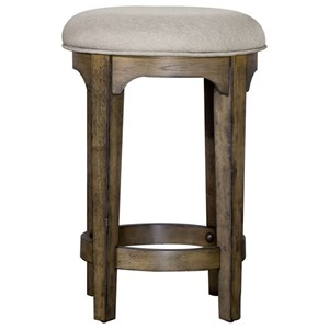 Upholstered Console Stool