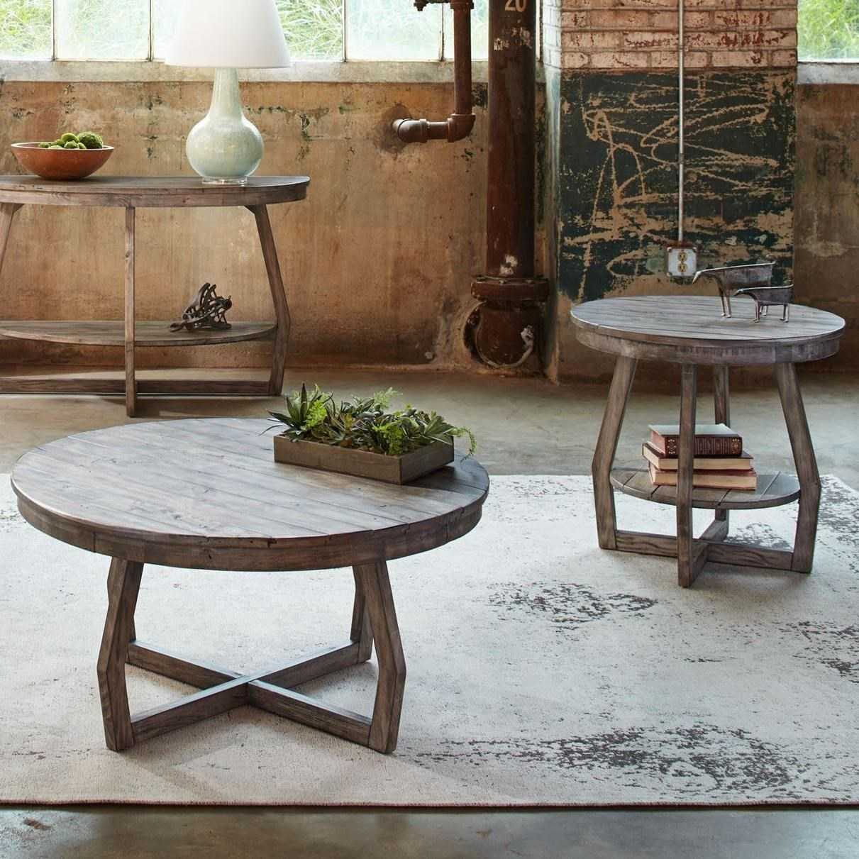 Hayden Way 3 Piece Occasional Table Set by Liberty Furniture at Darvin Furniture