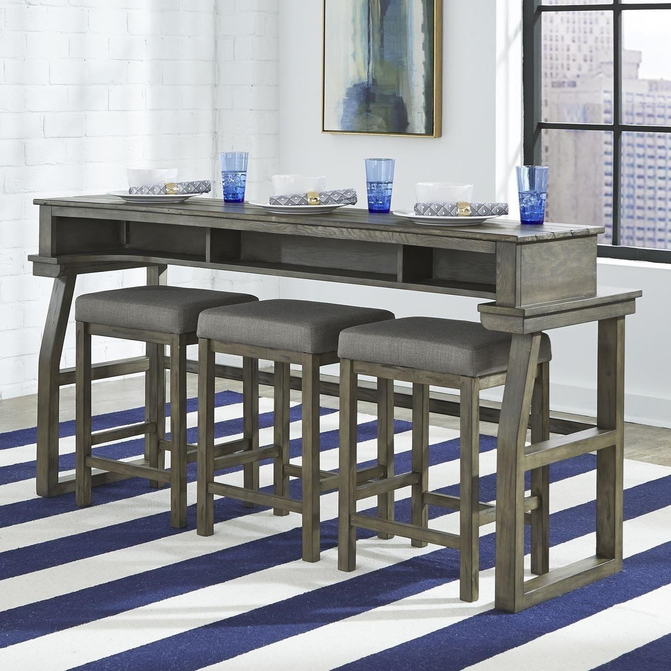 Hayden Way Console Bar Table by Liberty Furniture at Northeast Factory Direct