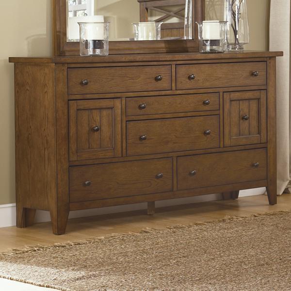 Hearthstone 8-Drawer Dresser by Liberty Furniture at Lapeer Furniture & Mattress Center