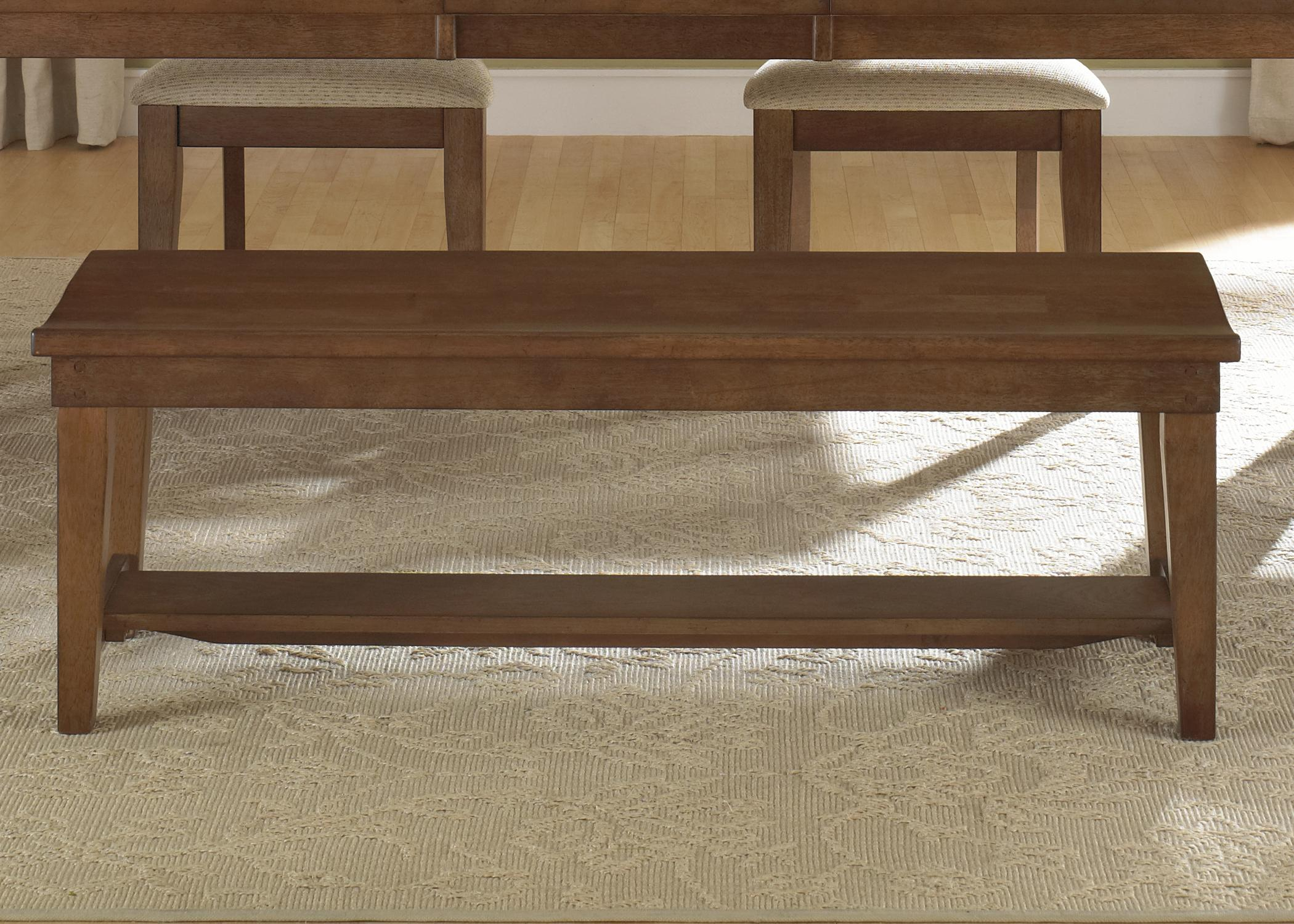 Hearthstone Bench (RTA) by Liberty Furniture at Lapeer Furniture & Mattress Center