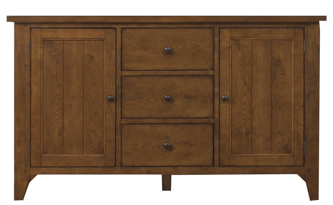 Hearthstone Buffet by Liberty Furniture at Lapeer Furniture & Mattress Center
