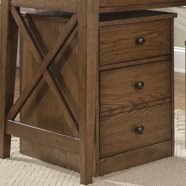Hearthstone Mobile File Cabinet by Liberty Furniture at Lapeer Furniture & Mattress Center