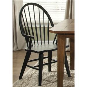 Liberty Furniture Hearthstone Windsor Back Arm Chair
