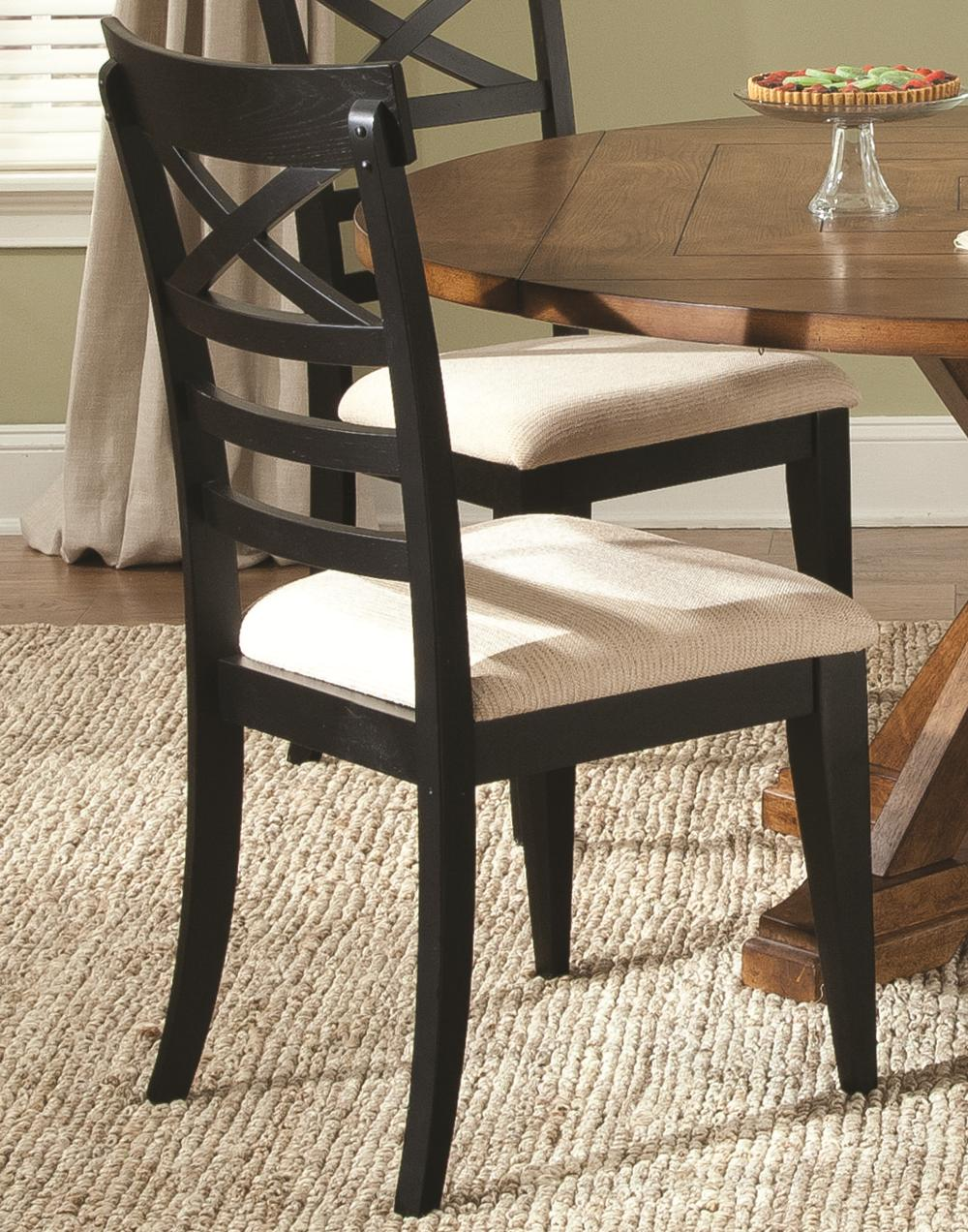 Hearthstone X Back Side Chair by Liberty Furniture at Lapeer Furniture & Mattress Center