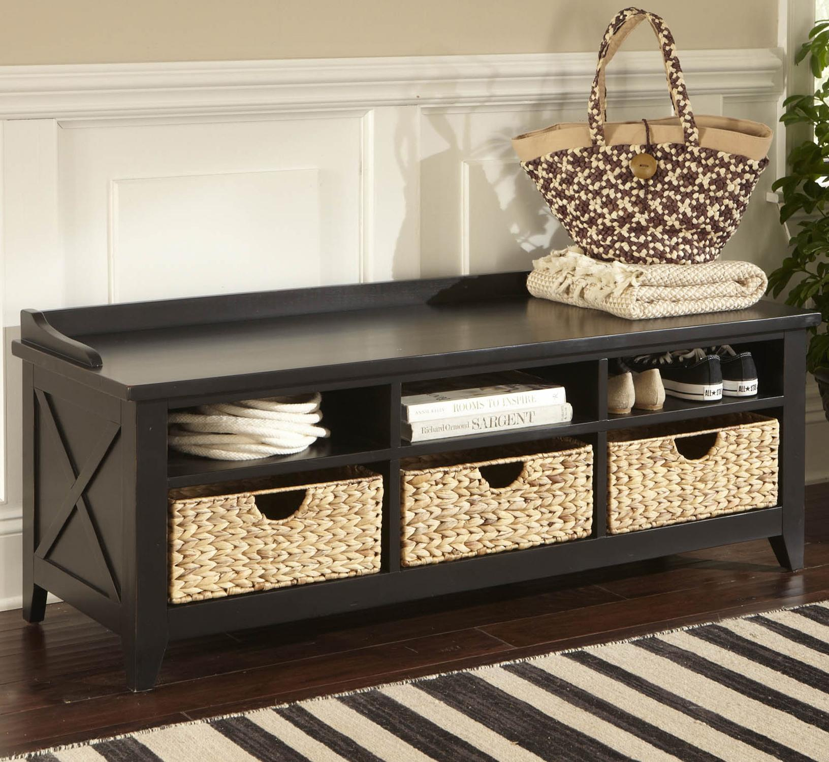 Hearthstone Cubby Storage Bench by Liberty Furniture at Lapeer Furniture & Mattress Center
