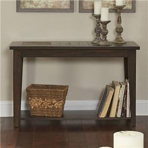 Liberty Furniture Hearthstone Sofa Table