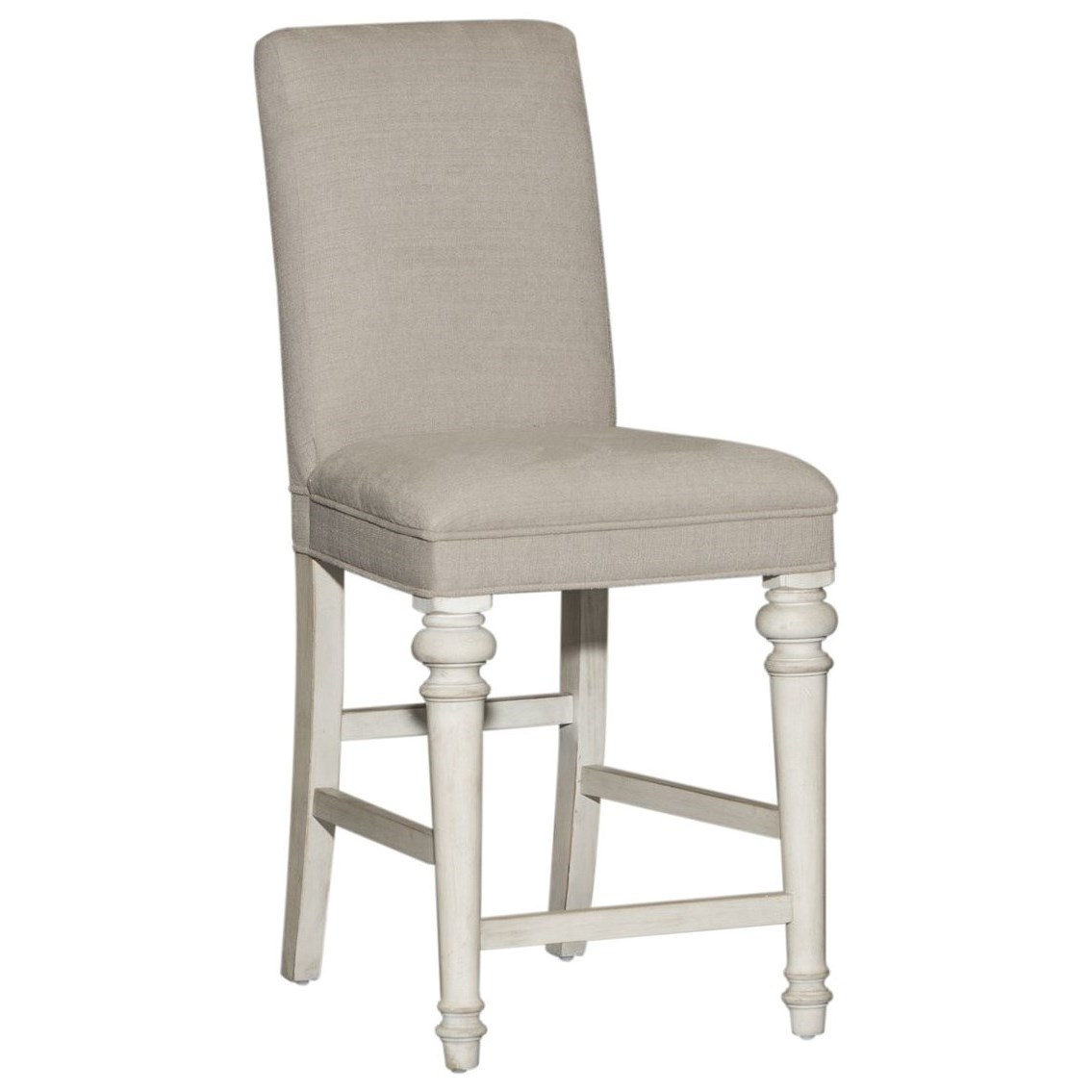 Haven Upholstered Counter Height Chair by Libby at Walker's Furniture