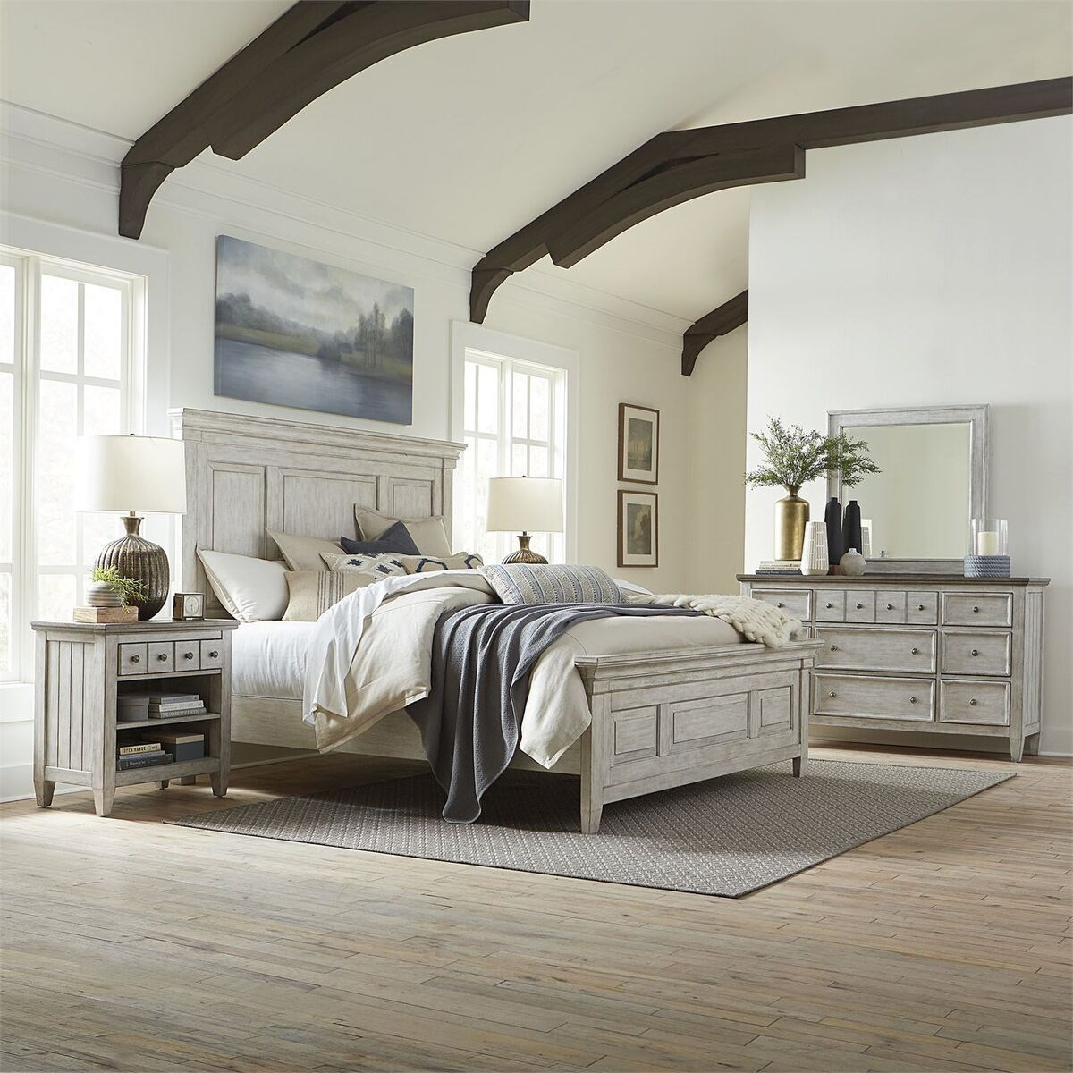 Heartland King Bedroom Group by Liberty Furniture at Johnny Janosik
