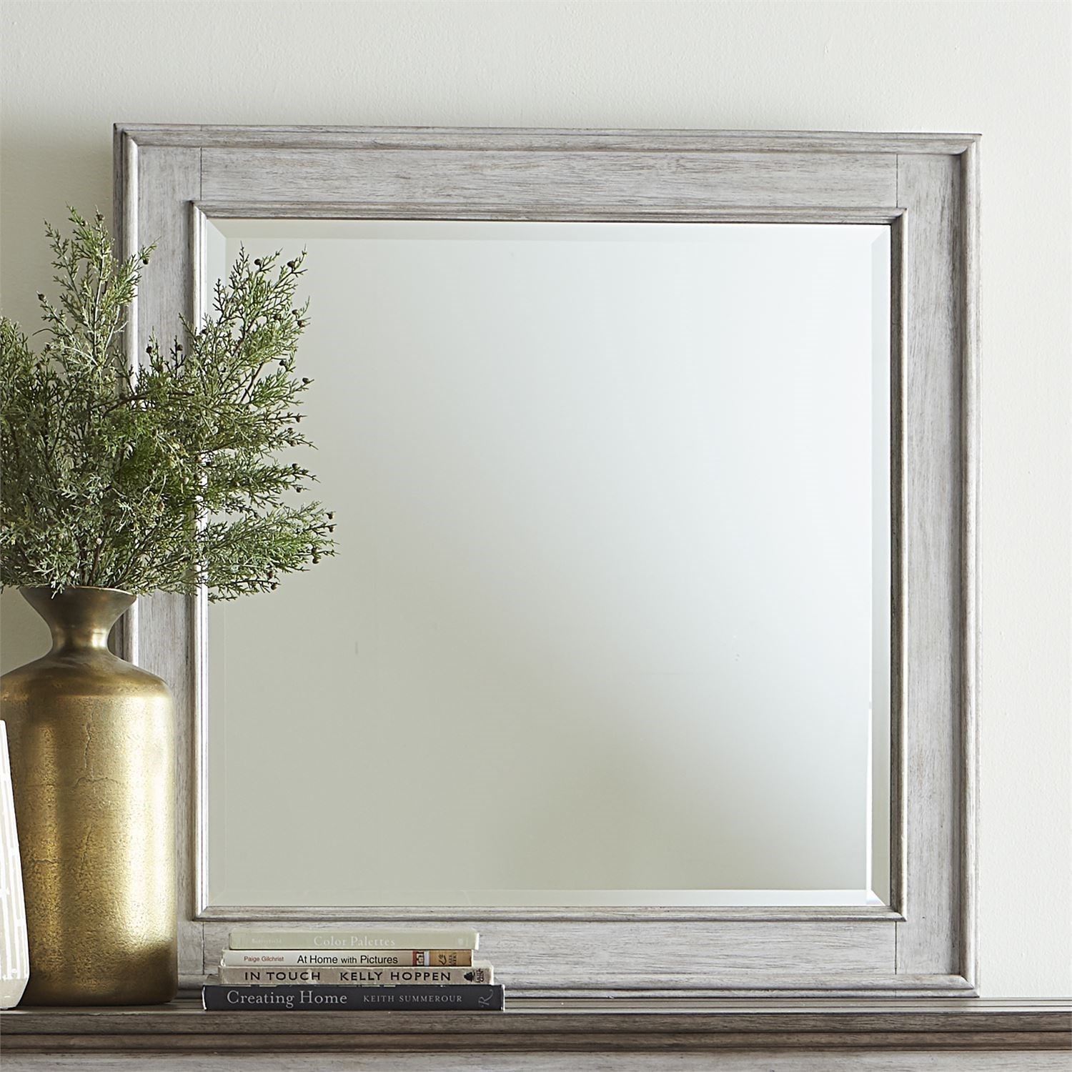 Heartland Landscape Mirror by Liberty Furniture at Zak's Home