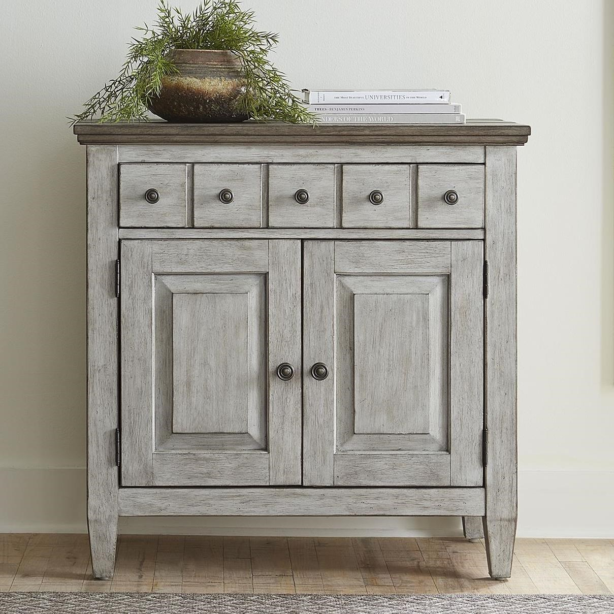 Heartland Bedside Chest by Liberty Furniture at Northeast Factory Direct