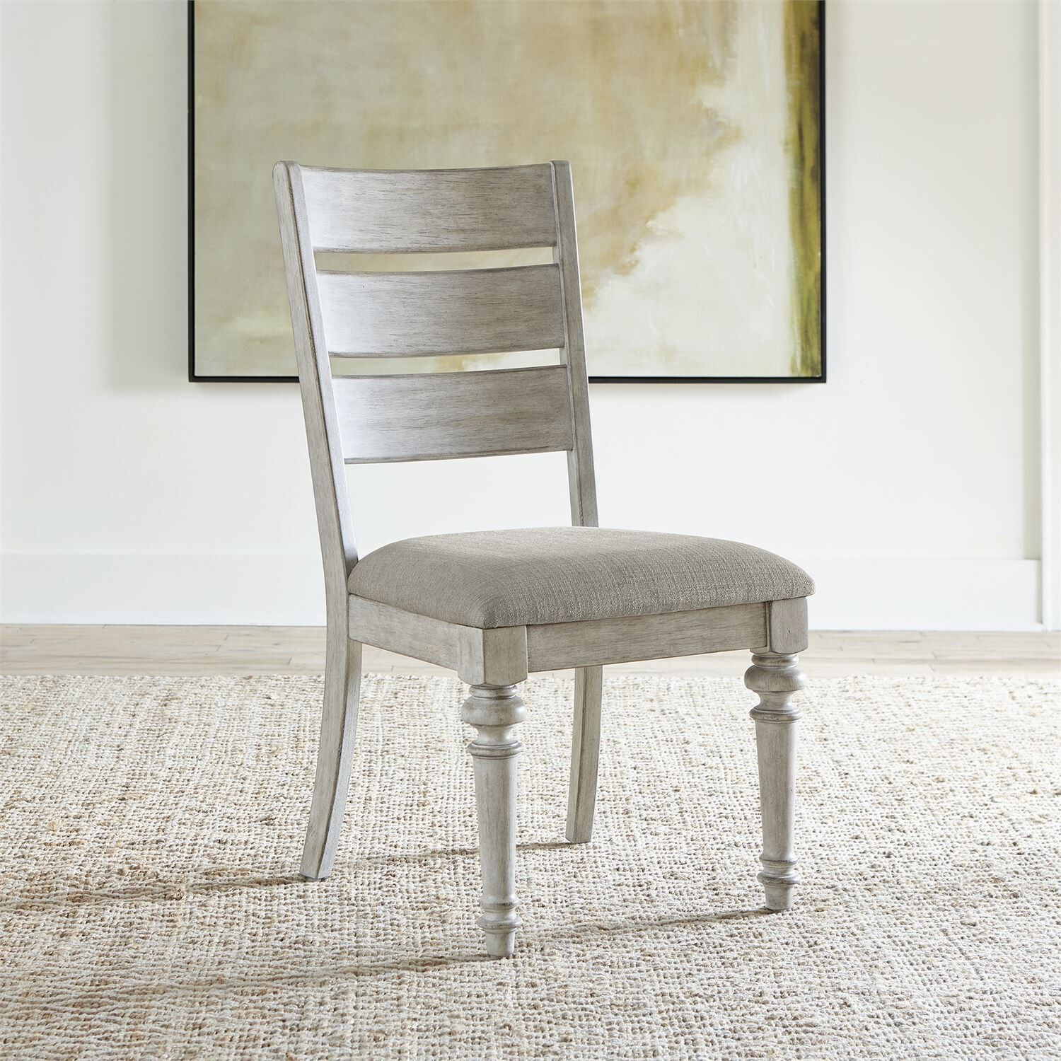 Heartland Ladder Back Side Chair by Liberty Furniture at Northeast Factory Direct