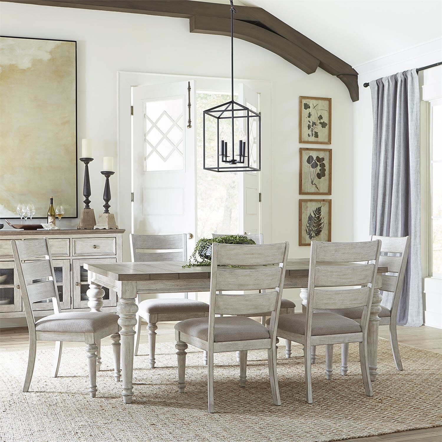 Heartland 7-Piece Dining Set by Liberty Furniture at Upper Room Home Furnishings