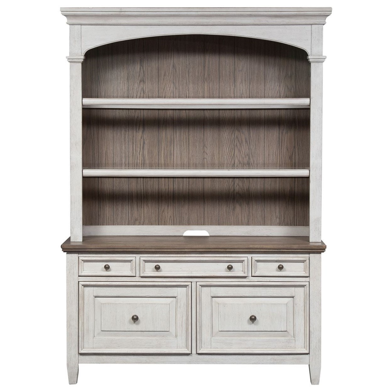 Heartland Credenza & Hutch by Liberty Furniture at Northeast Factory Direct