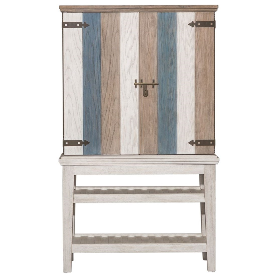 Heartland Wine Cabinet by Liberty Furniture at Johnny Janosik