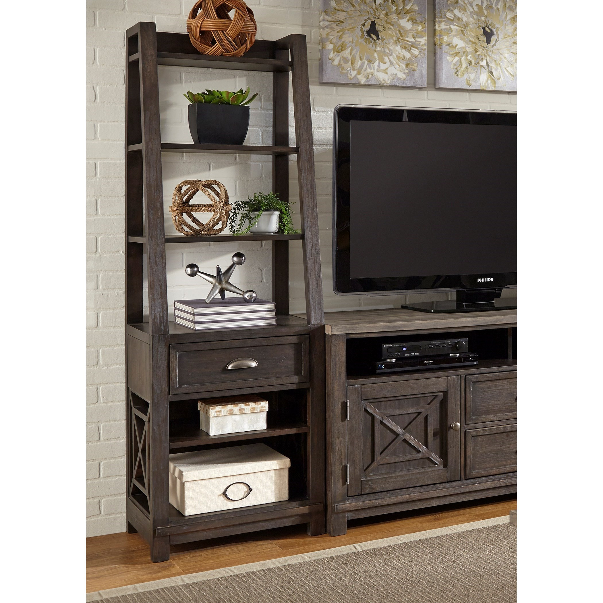 Heatherbrook Pier Unit by Libby at Walker's Furniture