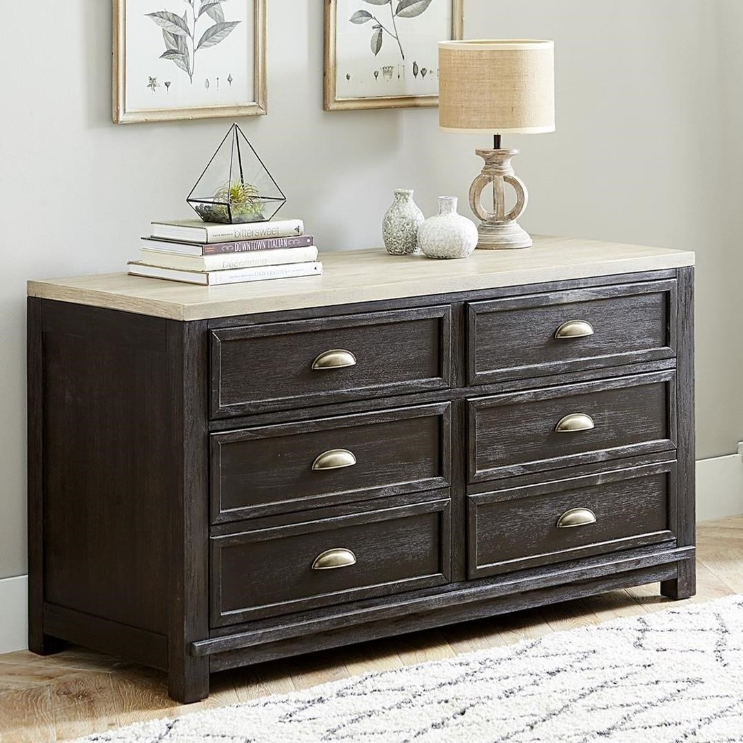Heatherbrook Credenza by Liberty Furniture at Furniture and ApplianceMart