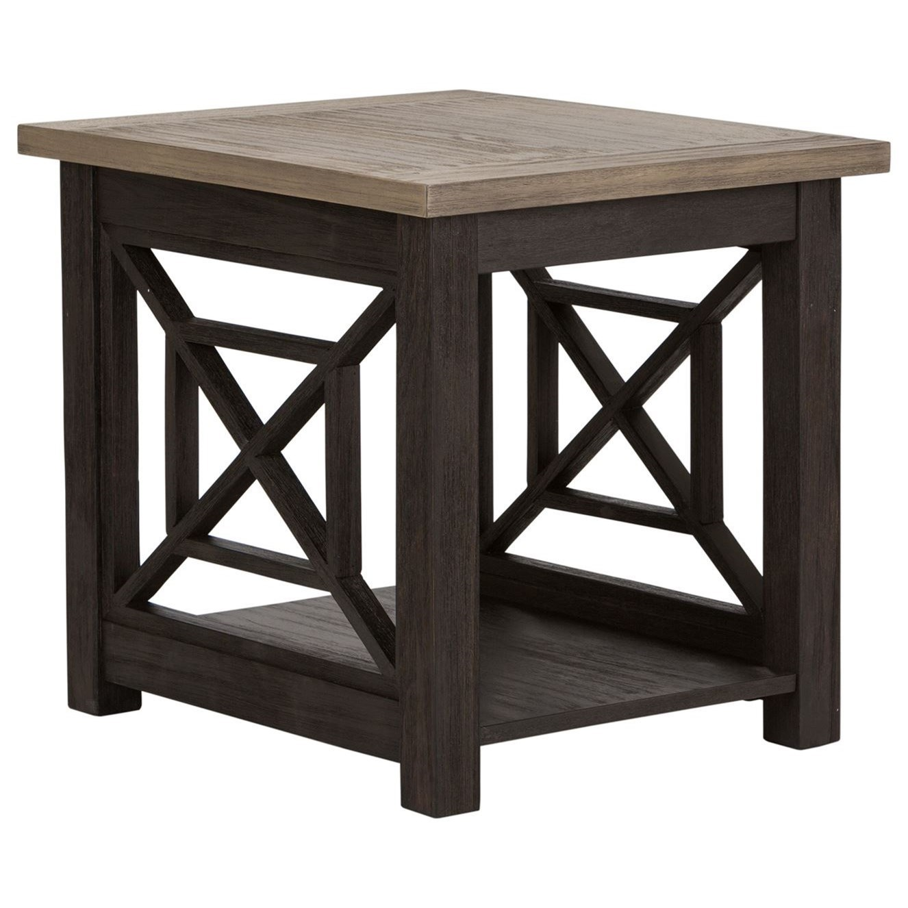 Heatherbrook End Table by Liberty Furniture at Northeast Factory Direct