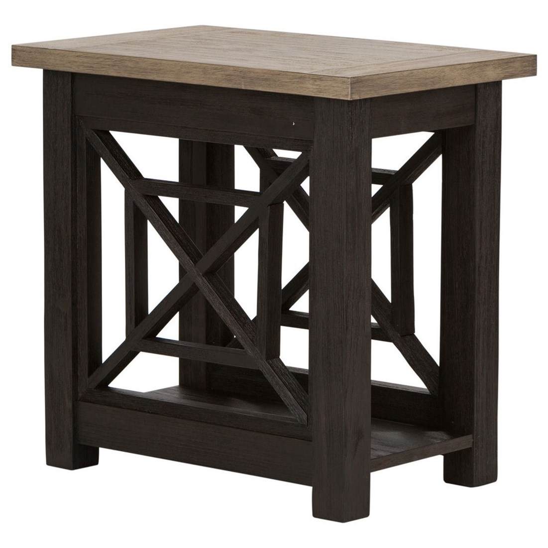 Heatherbrook Chair Side Table by Liberty Furniture at Darvin Furniture