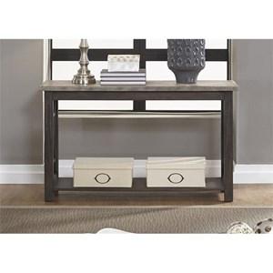 Sofa Table with Bottom Shelf