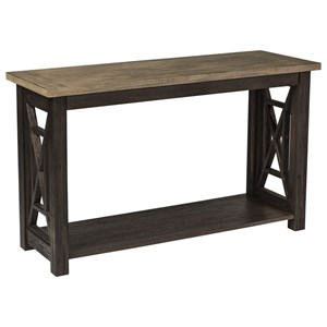 Sofa Table with Bottom Shelf