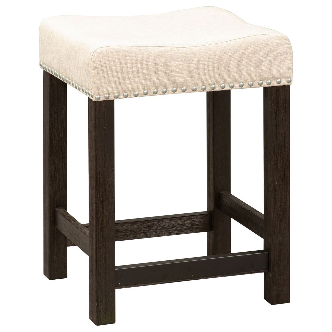 Heatherbrook Upholstered Barstool by Liberty Furniture at Darvin Furniture
