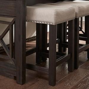 Liberty Furniture Heatherbrook Occasional Uph Barstool