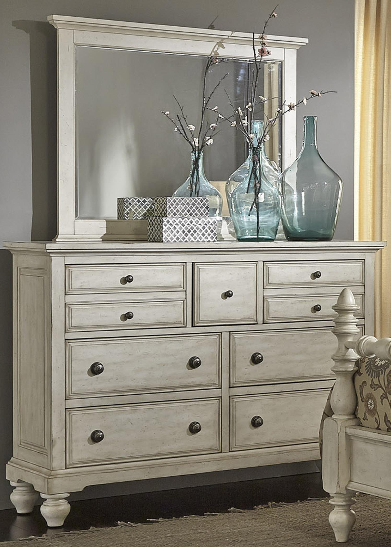 High Country Chesser and Mirror by Liberty Furniture at Suburban Furniture