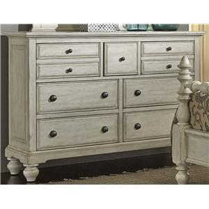 Liberty Furniture 697-BR 7 Drawer Chesser