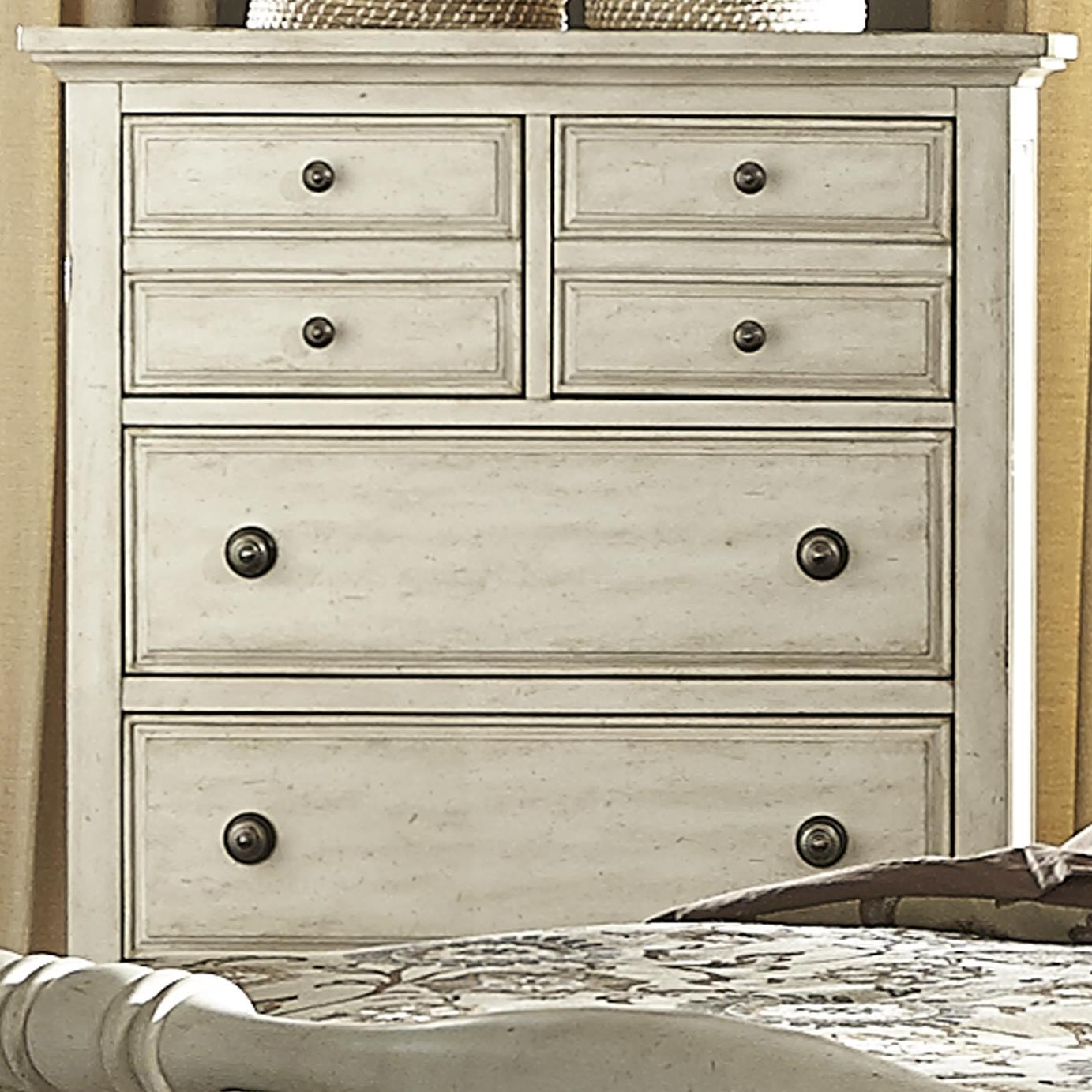 Hanna 5 Drawer Chest  by Libby at Walker's Furniture