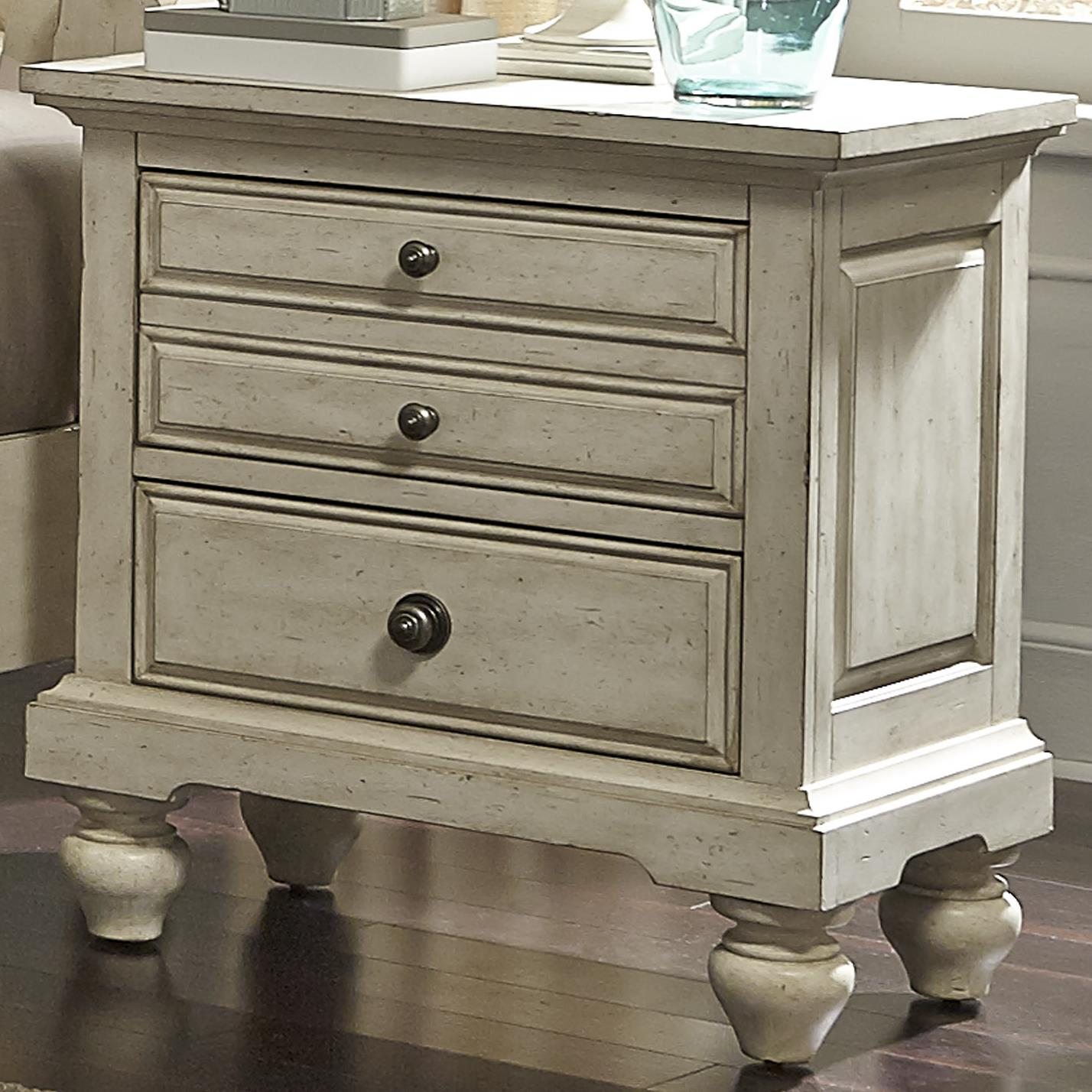 Hanna Nightstand by Libby at Walker's Furniture