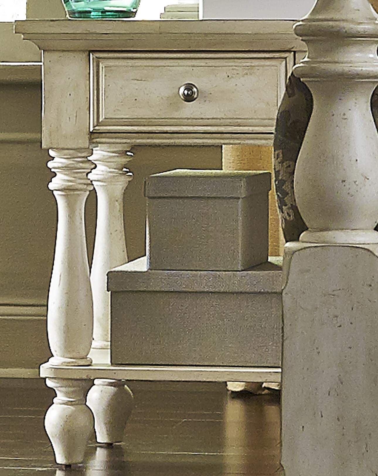 Hanna Chair Side Night Stand by Libby at Walker's Furniture