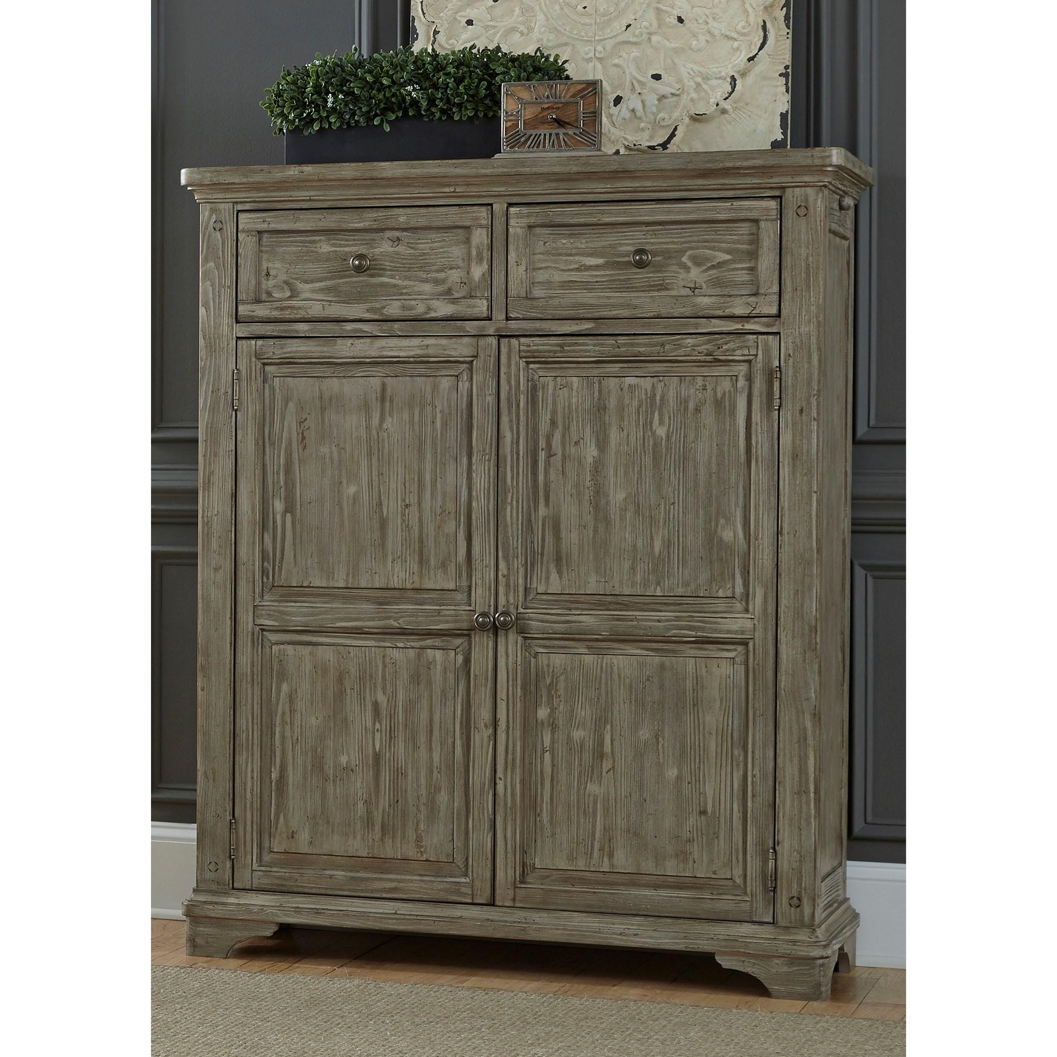 Highlands Door Chest by Liberty Furniture at Lapeer Furniture & Mattress Center