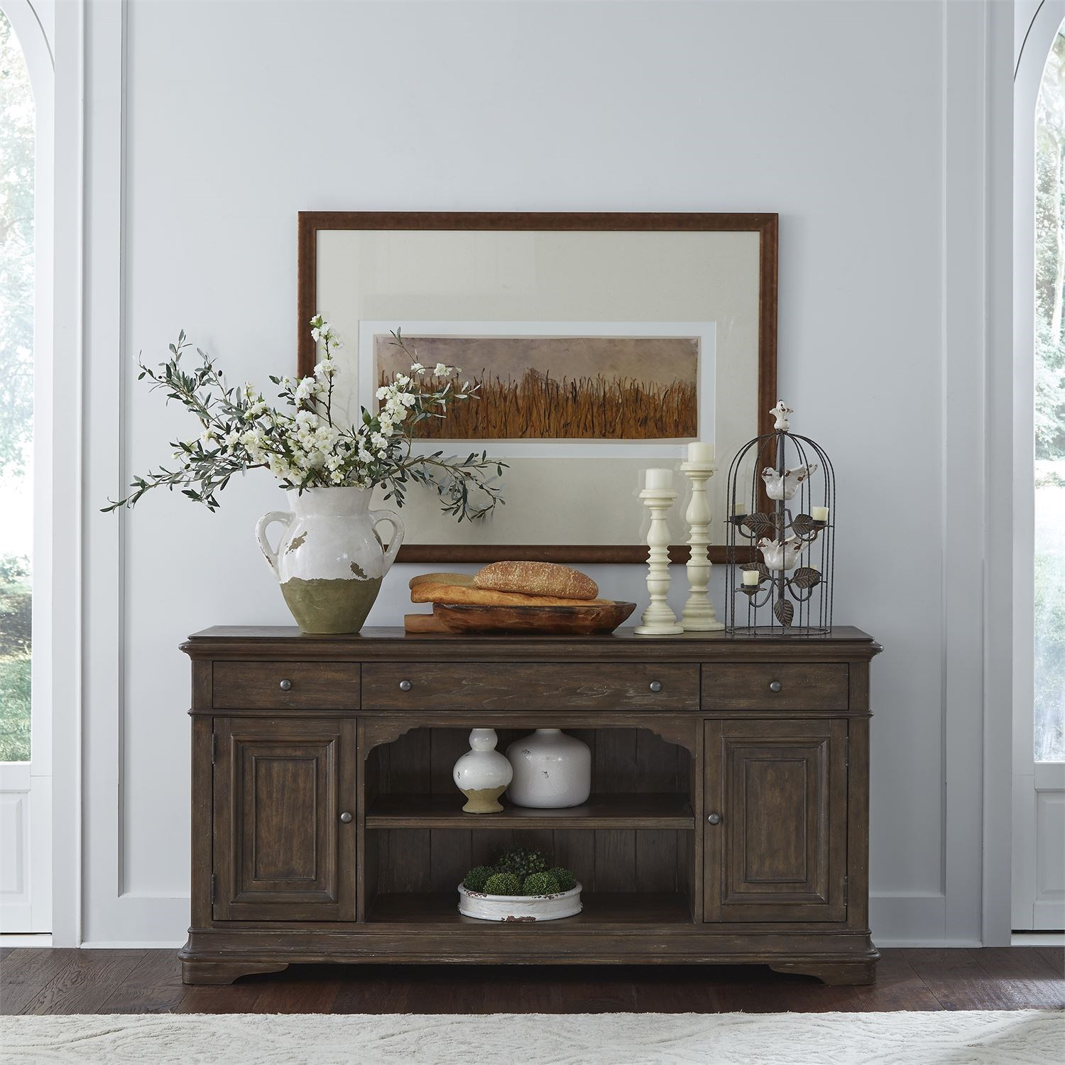 Homestead Buffet by Libby at Walker's Furniture
